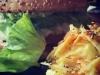 Savory Frankfurt Burger