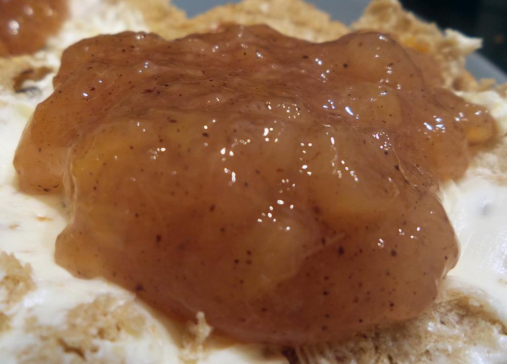 Rezept vegane Rhabarber Marmelade