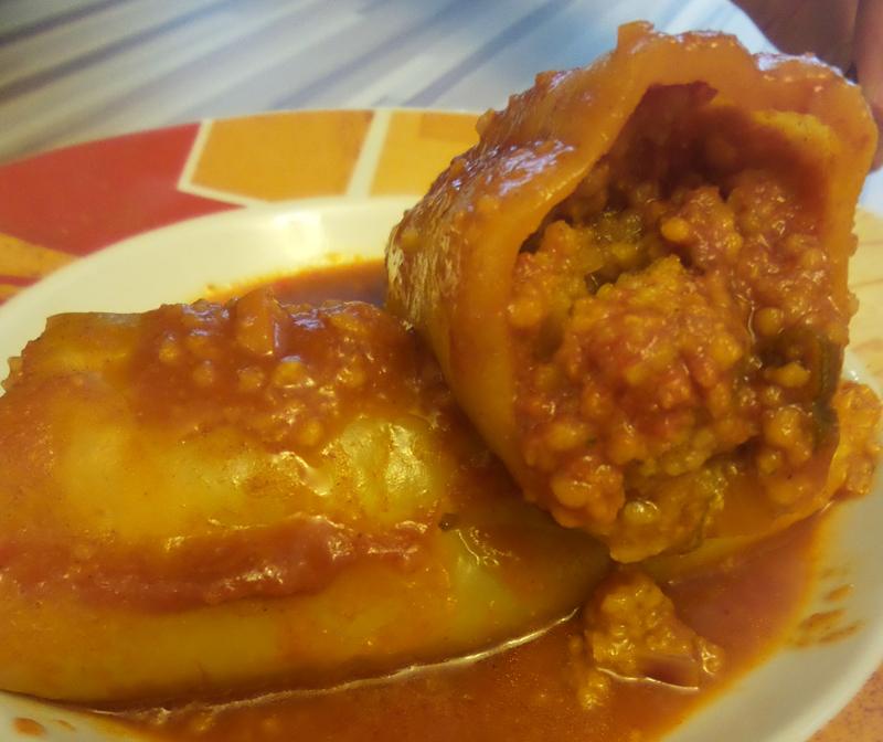 Gefüllte Paprika Vegan Rezept