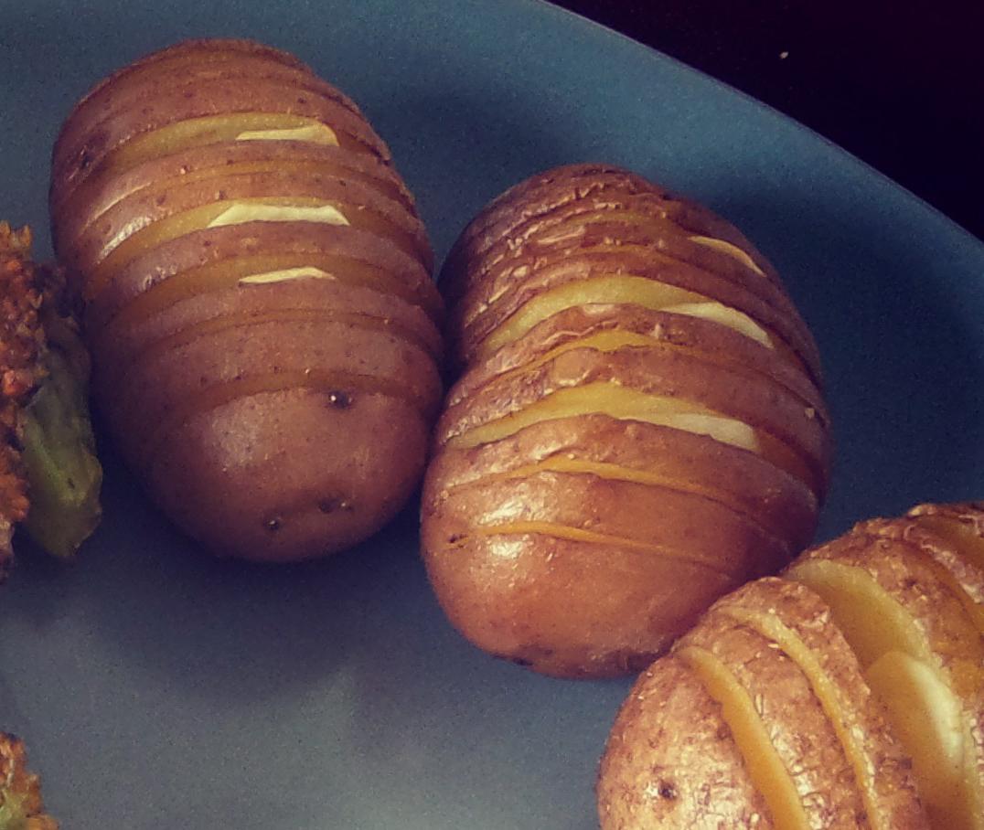 Rezept Fächerkartoffeln vegan
