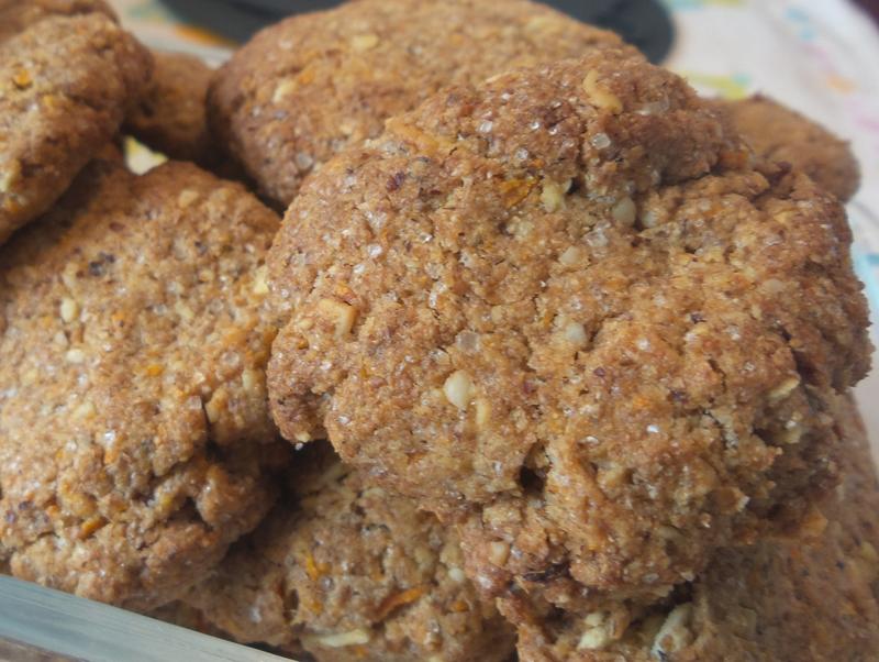 Möhren Nuss Kekse Vegan