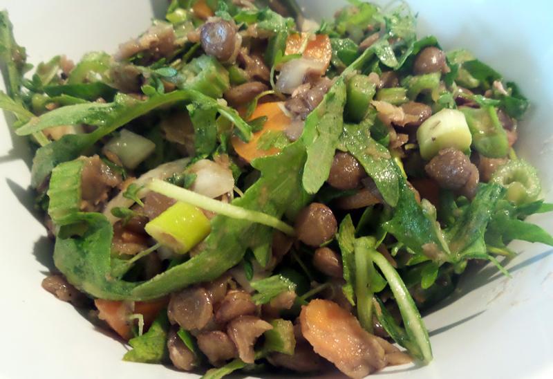 Rezept Linsen-Sellerie-Salat