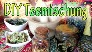 DIY Herbst Teemischungen