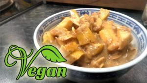 Rezept veganer Apfelauflauf