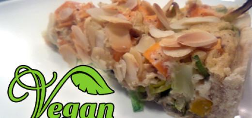 Rezept vegane Brokkoli-Quiche