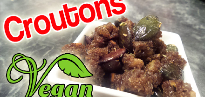Rezept Croutons vegan