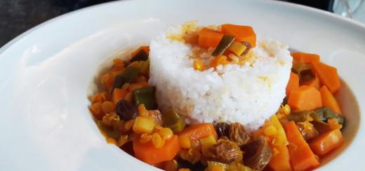 Rezept Möhren Linsen Curry Vegan