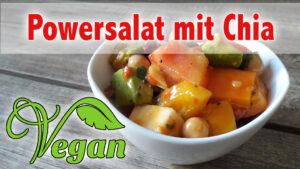 Rezept veganer Powersalat