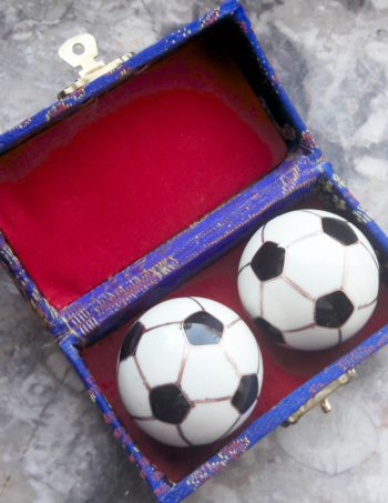 Qi Gong Klangkugeln Fußball