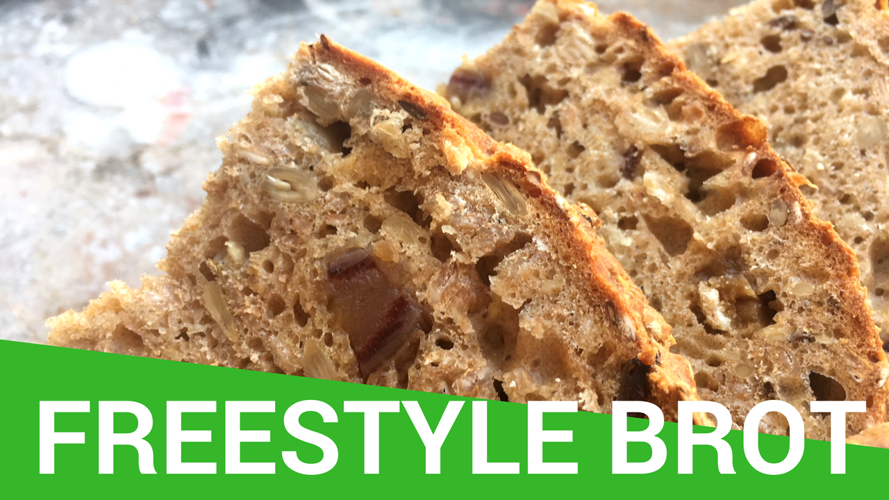 freestylebrot Rezept Vegan Backen