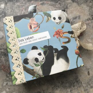 Panda Junk Journal