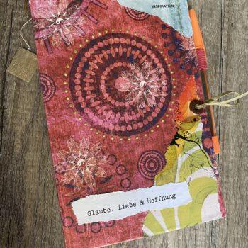Handmade Junk Journal Mandala