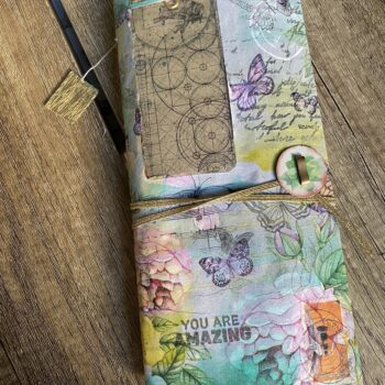 Junk Journal Butterfly